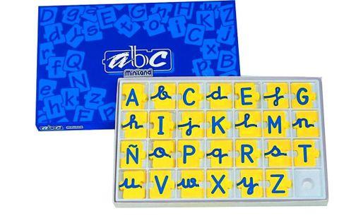 Abeceda v kufríku malé/veľké písmená 168 ks