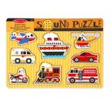 Zvukové puzzle - Dopravné prostriedky