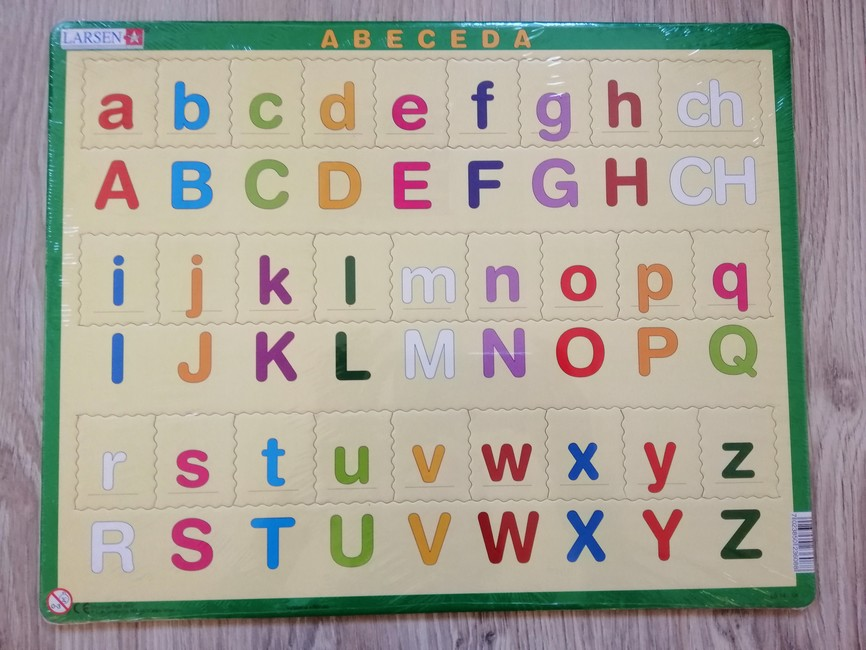 Puzzle - Abeceda (malé písmená)