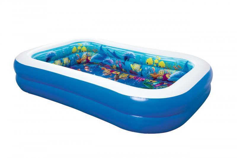 Nafukovací bazén 3D