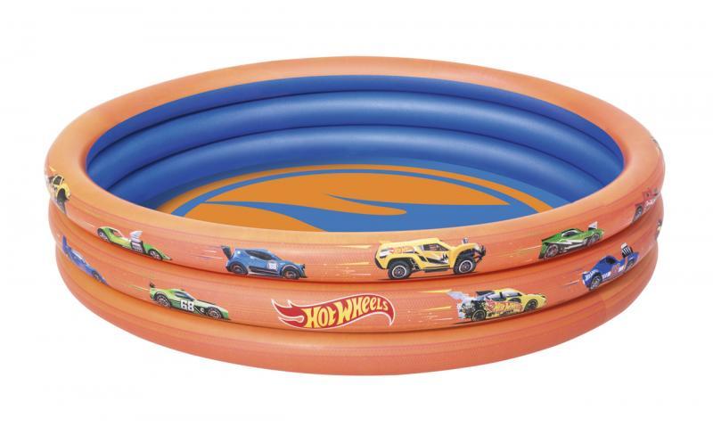Nafukovací bazén Hot Wheels