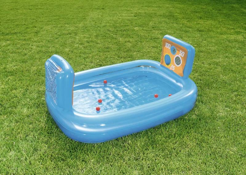 Nafukovací bazén s bránkami