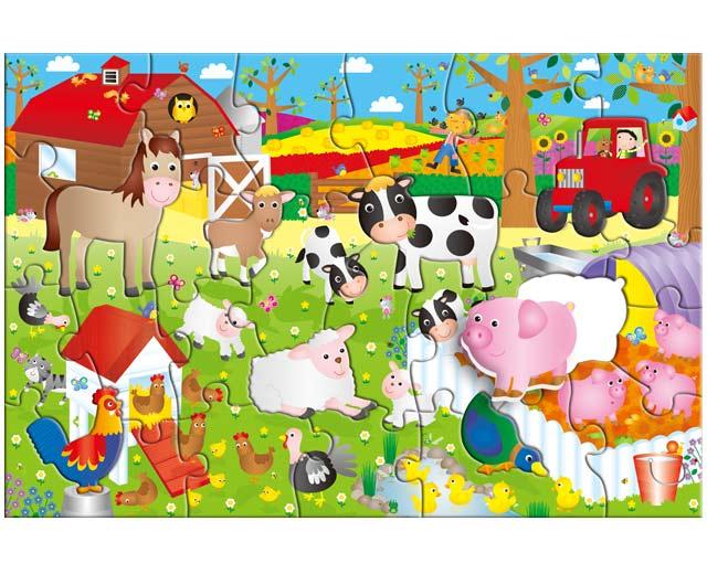 Obrie puzzle: Farma