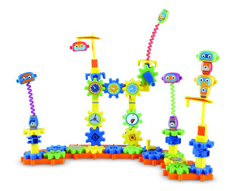 Ozubené kolesá - Konštrukčná sada - Továreň na roboty