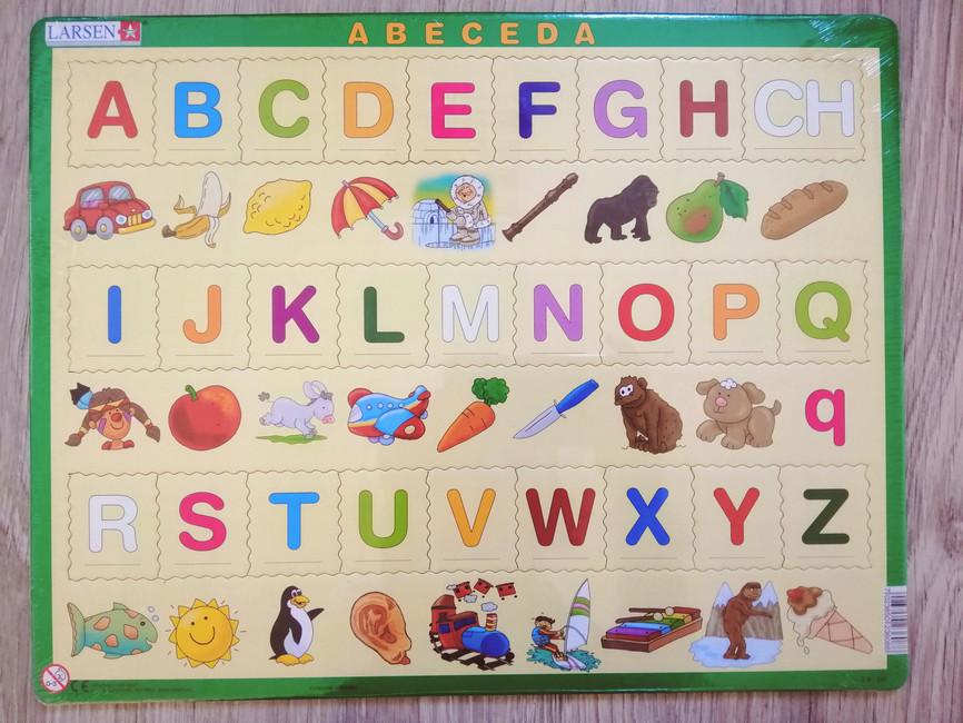 Puzzle - Abeceda (veľké písmená)