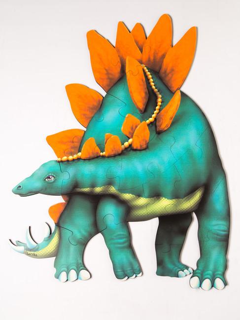 """Puzzle na podlahu """"Stegosaurus"""