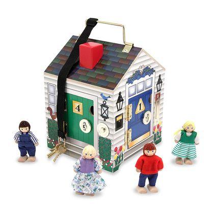 Dom so zvončekom pri dverách
