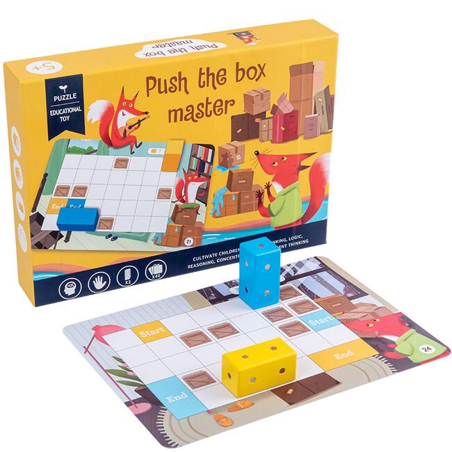Spoločenská hra – Rozhýb krabicu