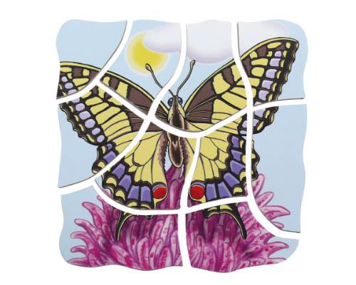 Vrstvené puzzle Motýľ